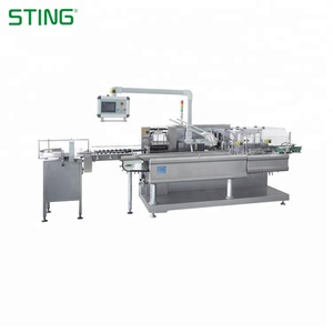 Original factory vertical cartoner small carton packing machine price of automatic box Of New Designed
