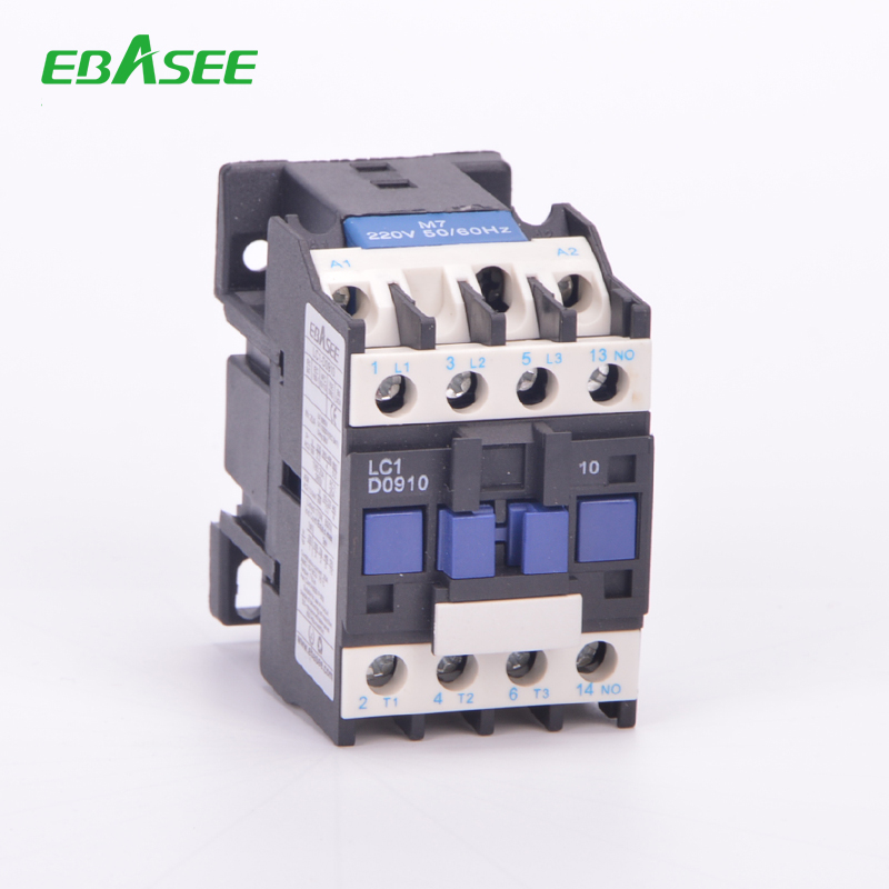 Electrical contactor 3 pole AC type lc1d09 ac contactor lc1 d25 telemecanique magetic contactor
