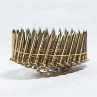 Q195 material Coil Roofing Nails