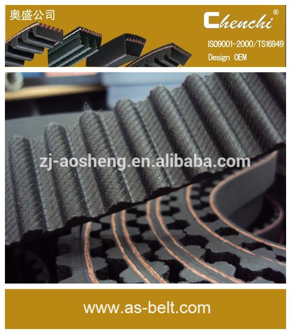 Küçük tahrik kayışları \ t motor kasnakları 8bar senkron kayış tahrikli hava kompresörü