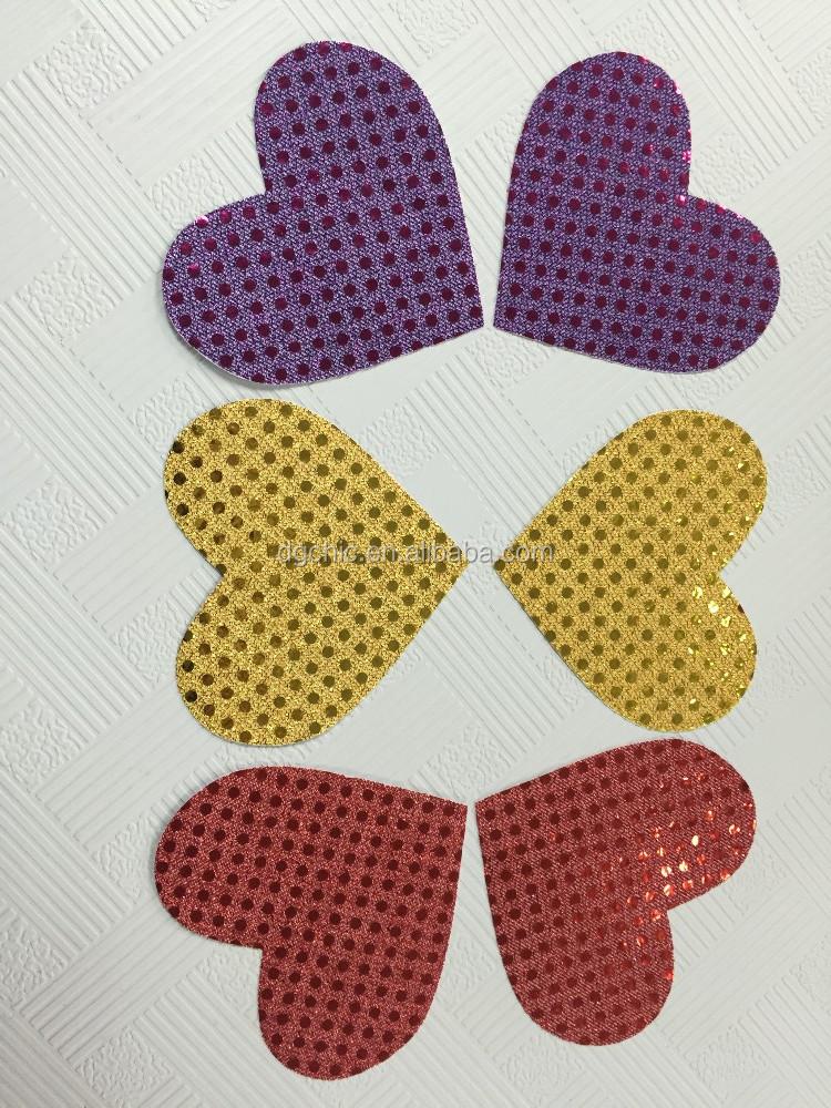 bra Less Sexy Adhesive Nipple Covers Sticker Cross Shape Black 1 Pair