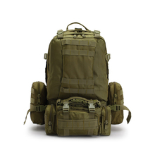 600D Tactical military hiking backpack