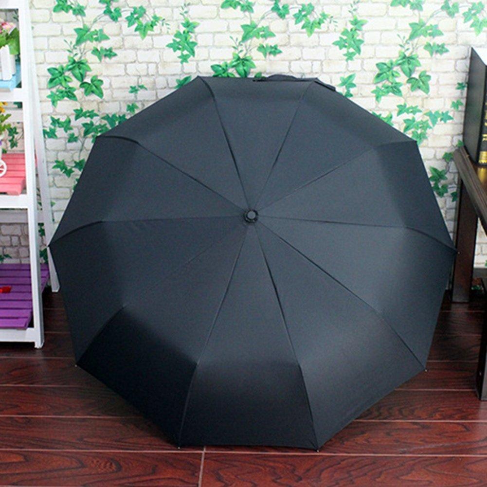 EDTara All-weather Umbrella Portable Triple Folding Anti-UV Sunproof Automatic Parasol