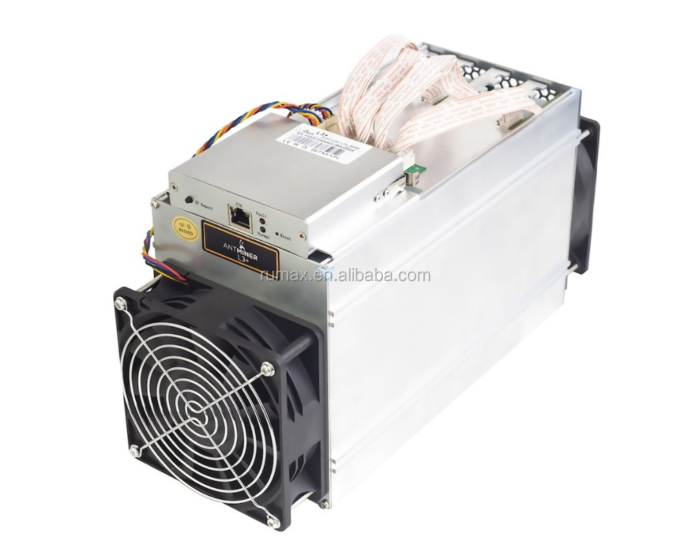 Brand new Bitcoin miner ANTMINER L3+ Antminer A5, 504M Miner-August 2017 Batch L3+ miner