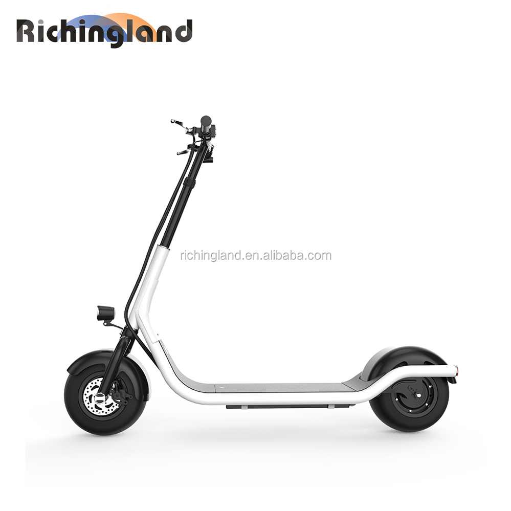 Hot new products for 2018 C2 electric moped electric moped scooter battery operated scooter
