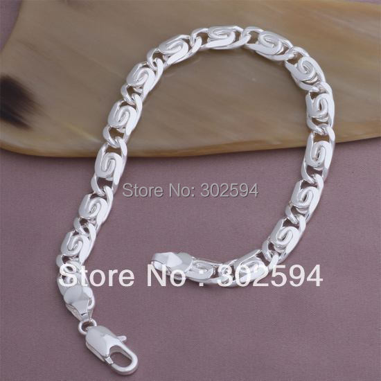 Yab193 красивая 925 серебро подвески цепь браслет ювелирные изделия