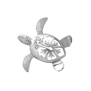 Factory Animal Jewely Wholesale Gold or Silver Crystal Hollow Turtle Shape Charms & Pendants Yiwu