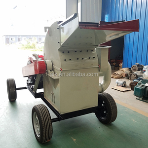 High quality molile wood chip crusher machine with low noise