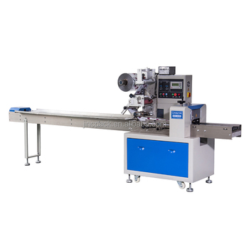 Pillow filling machine biscuit granola bar packaging machine