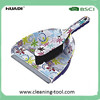 Dustpan and Brush Set Rubber Bristle Brush Dustpan Set with Printing