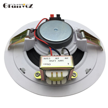 background music ceiling speaker with wall mount amplifier MP3
