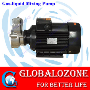 Negative pressure pump gas liquid mixing pump ozone/oxygen gas water mixing system