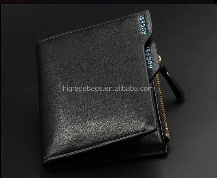 Wholesale bogesi Men Wallet 2016 New Genuine Leather Brand Wallets credit Mix Color Card holder Coin Purse Pockets Free Shipping