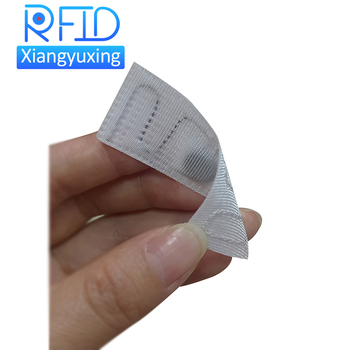 Clothing Laundry Label uhf RFID Washing Tag with Alien Higgs 3/Impinj 4QT for Clothes Management in Factory or Hotel