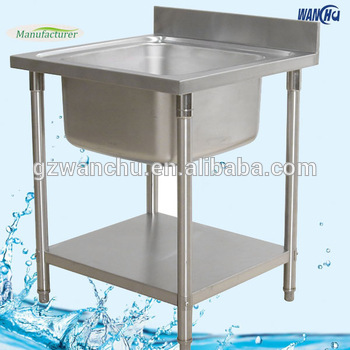 Single Sink Stainless Steel Portable Kitchen Sink Table - Buy ...