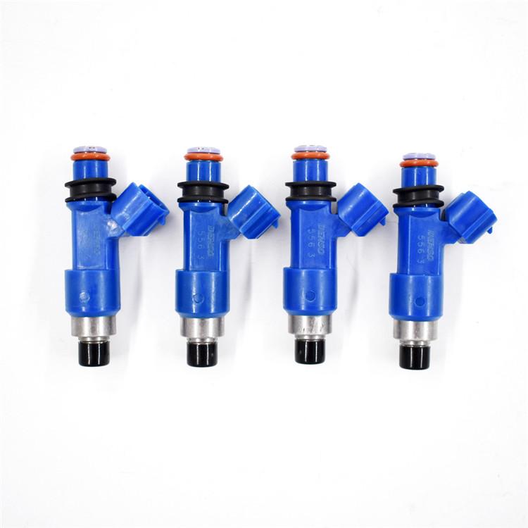 Denso STI BLUE 550cc 565cc fuel injectors for Subaru Impreza WRX Forester; EJ25