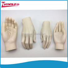 Custom hand model display Male and Female hand model silicone rubber