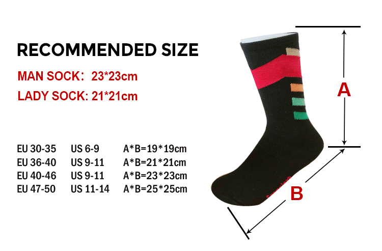 Wholesale Custom Logo Knitted Jacquard Cotton Casual Dress Crew Socks