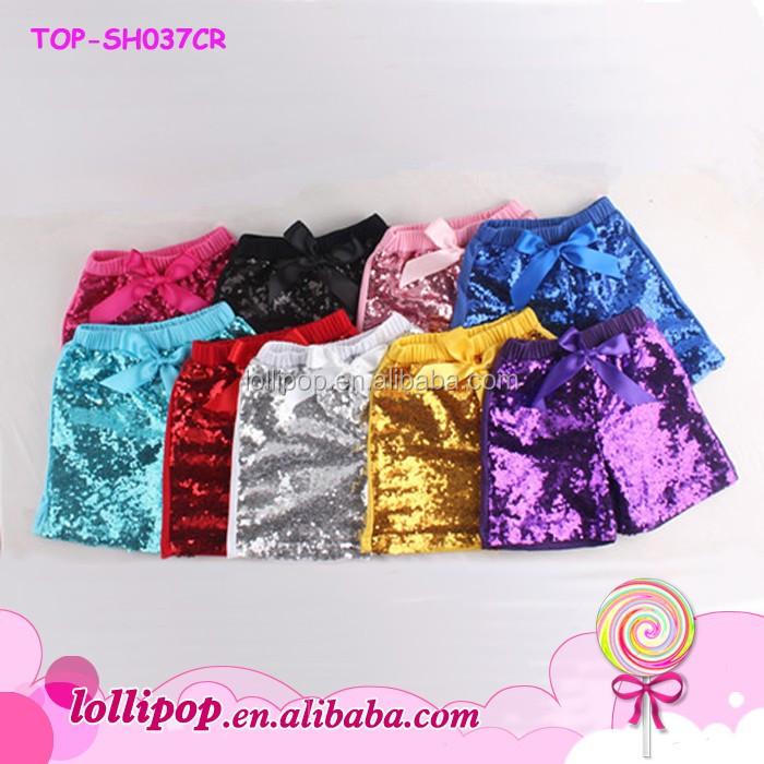eebfecaa7 Sequin Shorts Kids Boutique Toddler Girls Shorts Colorful Baby Girl ...