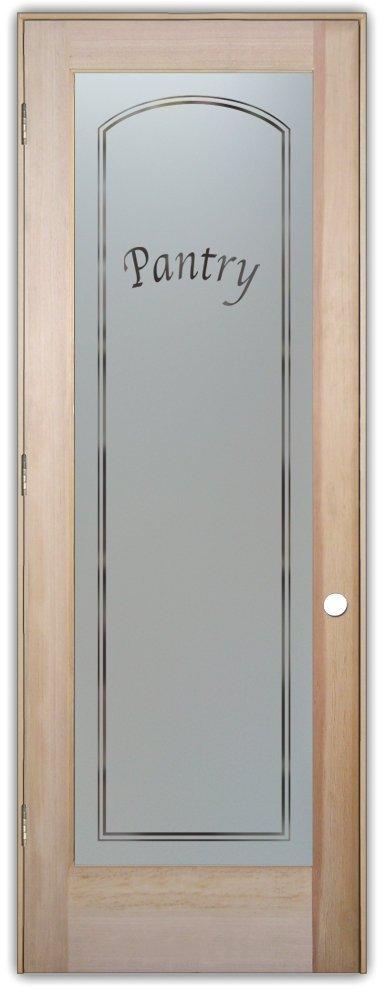 Buy Pantry Door Sans Soucie Etched Glass Interior Door