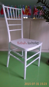 Unassembled Stacking Wedding PP Chiavari Chair