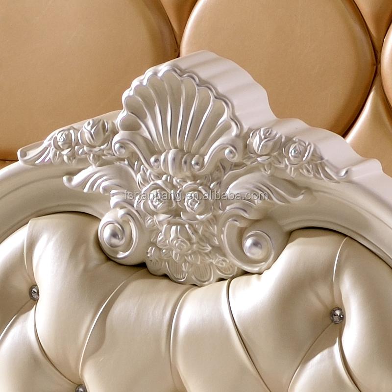 Luxus Weiß Französisch Barocken Barocco Stil Handgeschnitzten Holz ...