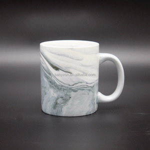 Hand Painted Ceramic Coffee Marble Mug