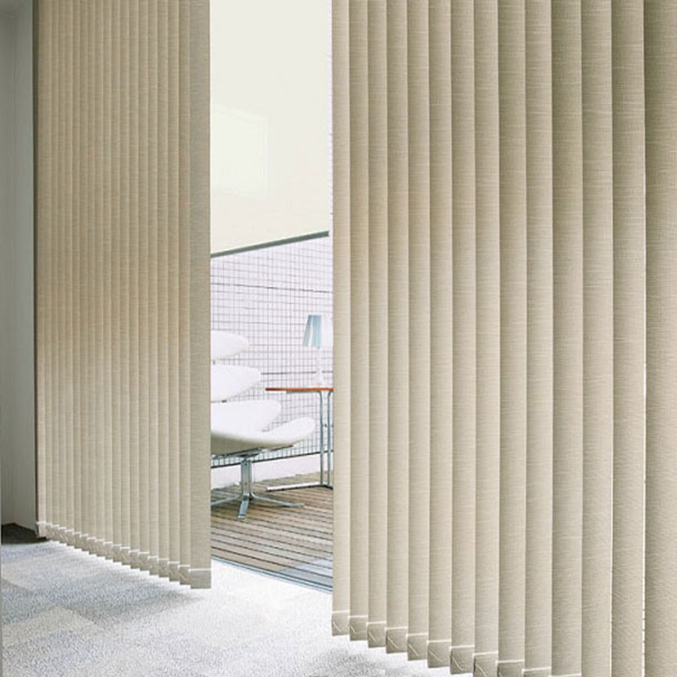 Vertical Blinds Office Curtains French Windows With Blinds