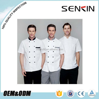 5d25aaaaefc Guangzhou Factory Custom Restaurant Waiters   Waitress Shirt Uniforms Chef  Uniform
