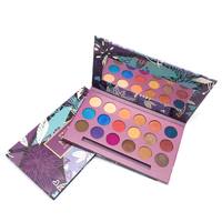 Factory Price 18 Colors Private Label Cosmetics Long Lasting Cardboard Eye Shadow Palette Makeup