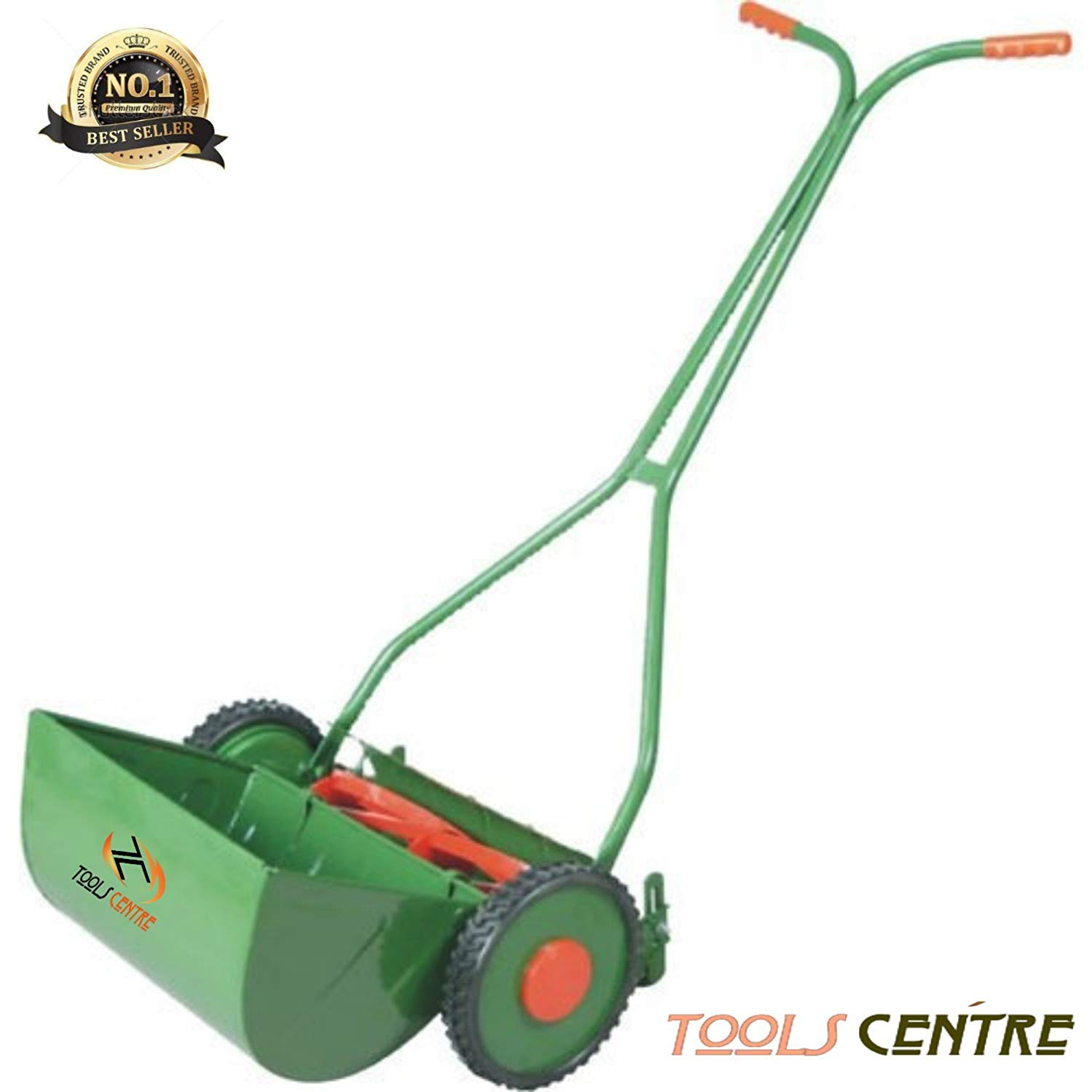"Get Quotations · Tools Centre Manual Lawn Mower (Cutting Width 12"")"