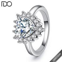 Many certified zircon fashion jewellery bangkok ring