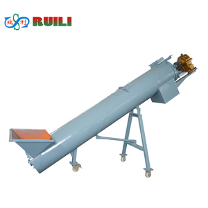 screw auger conveyor small screw conveyor plastic conveying machinery and equipment