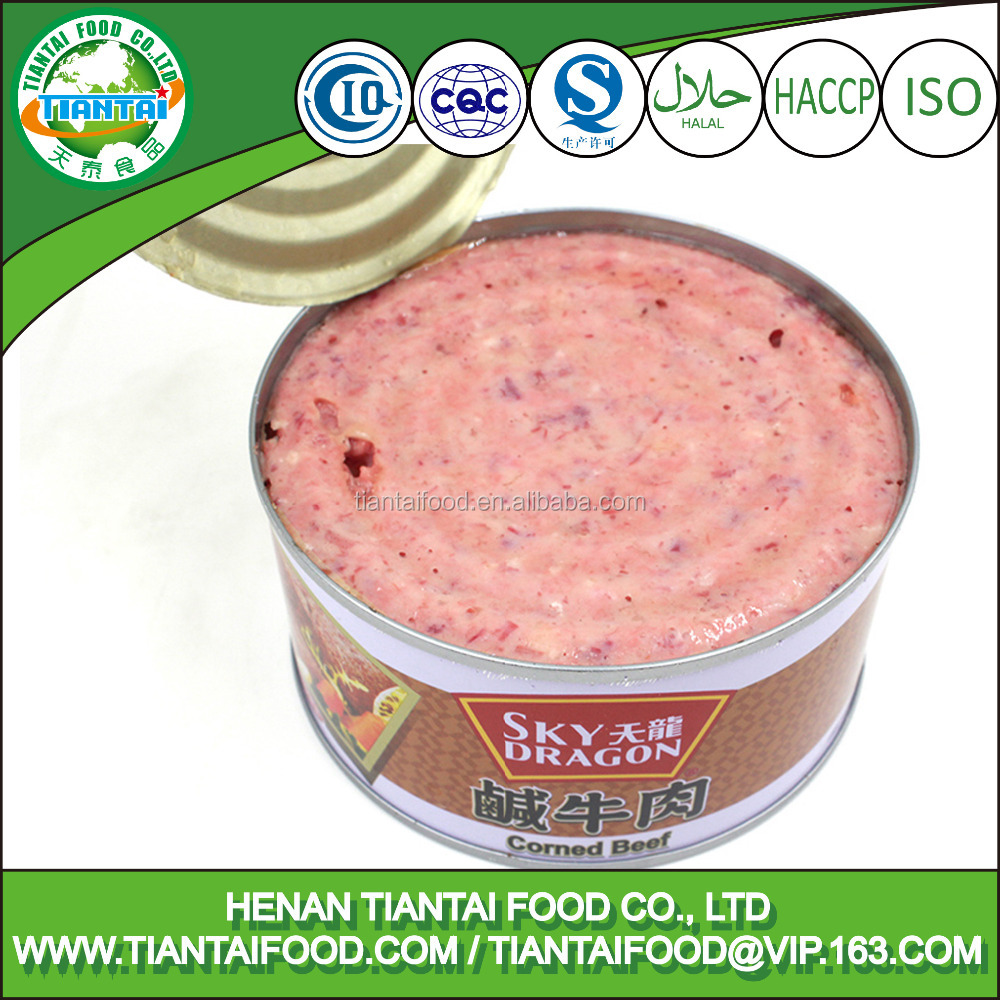 exporters of food and beverages canned corned beef halal