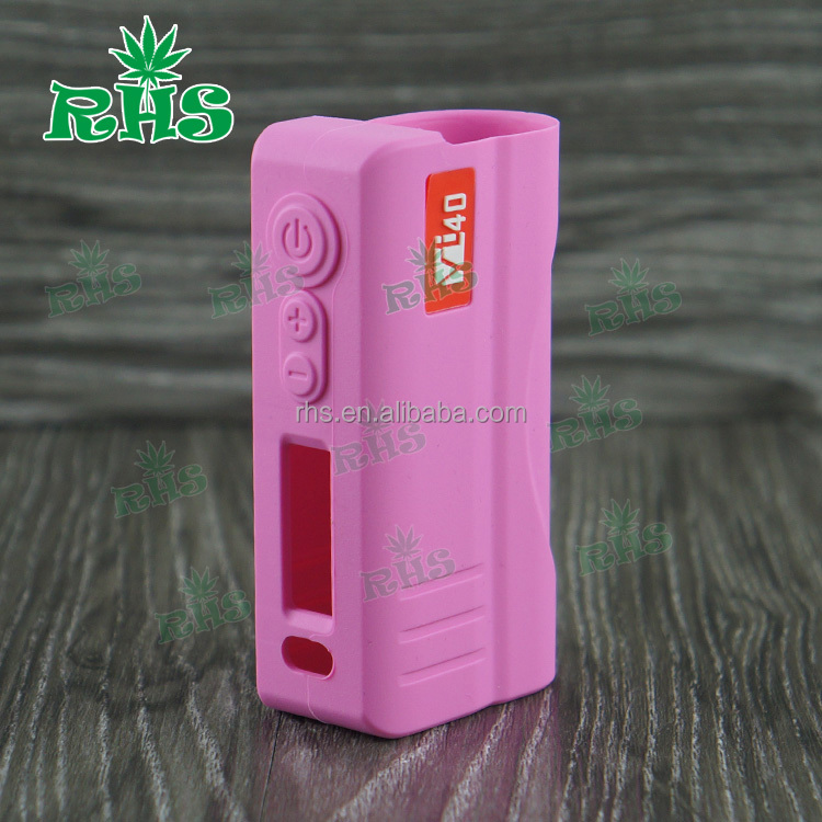RHS 19 colors silicone rubeer hcigar VT 11 case/skin/cover/sleeve/wrap/mod/enclosure vt40w vt 40 box mod 1:1 clone vape 40tc