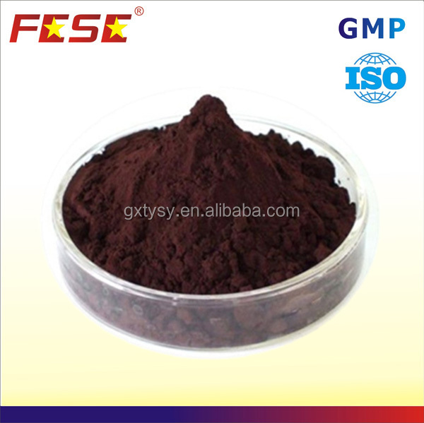 Dark brown pharmaceutical iron dextran 38%-42% pig powder