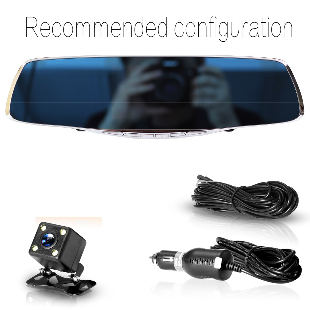 2017 hot selling dash cam 170 degree multi-function video camera hd tachograph 1080p car dvr for L3000