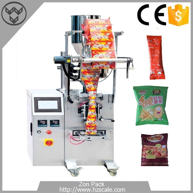 small business packing machine volumetric cup filler rice granule packing machine zh vg320