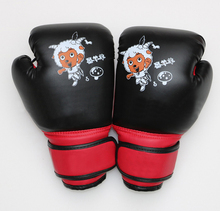 Top quality Gym MMA PU Leather adult and kids boxing gloves for training and professional fights