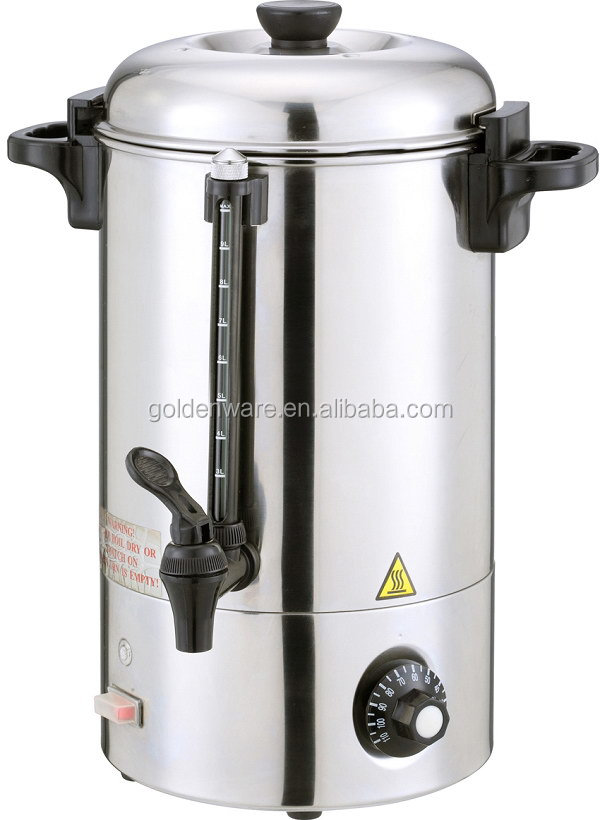 BC-10 Made In Guangzhou China High Reflective electric water heater dc coffee boiler