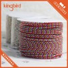 2mm colorful braided decorative string cord
