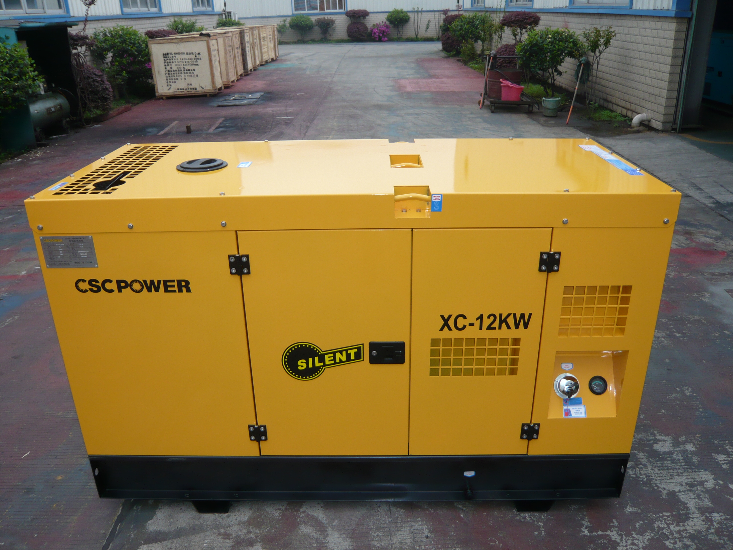 10kva 12kva 15kva 3 Phase Water Cooled Super Silent Diesel Power Generator Engine Set Cheap Price Custom Made