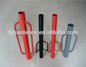 manual hand fence post driver for electric fence