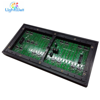 outdoor programmable scrolling led sign p10 rg led module 320 160mm
