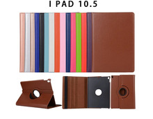 New Arrival Leather For ipad pro 10.5 inch case 360 rotation Stand Smart Magnetic case for apple ipad pro