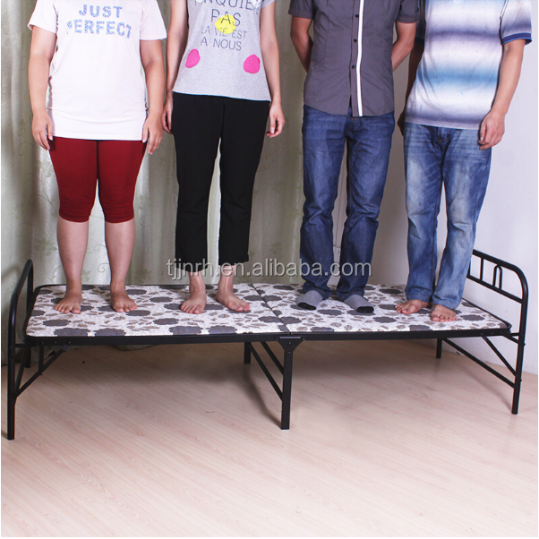 European style metal folding bed folding sofa bed guest bed durable