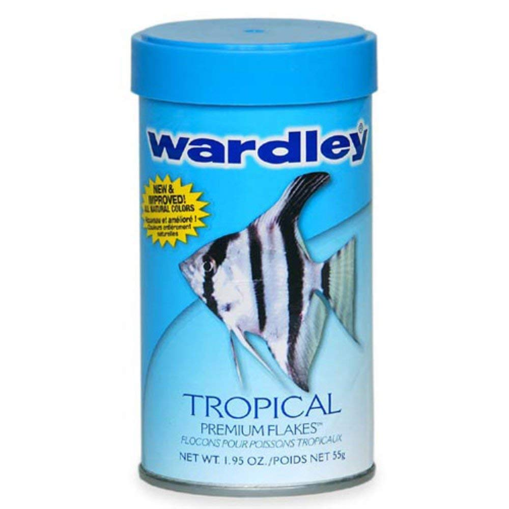 Hartz Wardley Tropical Premium Flakes Fish Food - 1.95 oz.