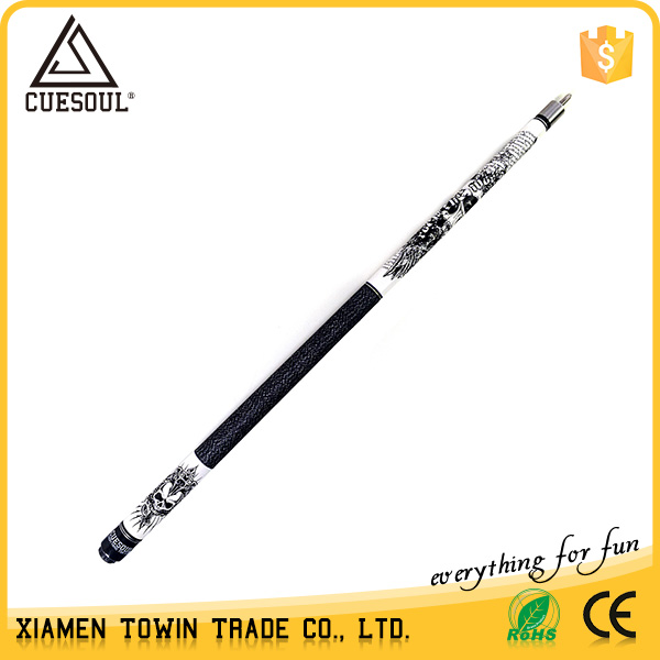 CUESOUL Billiard Pool Cue Stick Wood 21oz 13mm  Joint Protector Shaft Protector