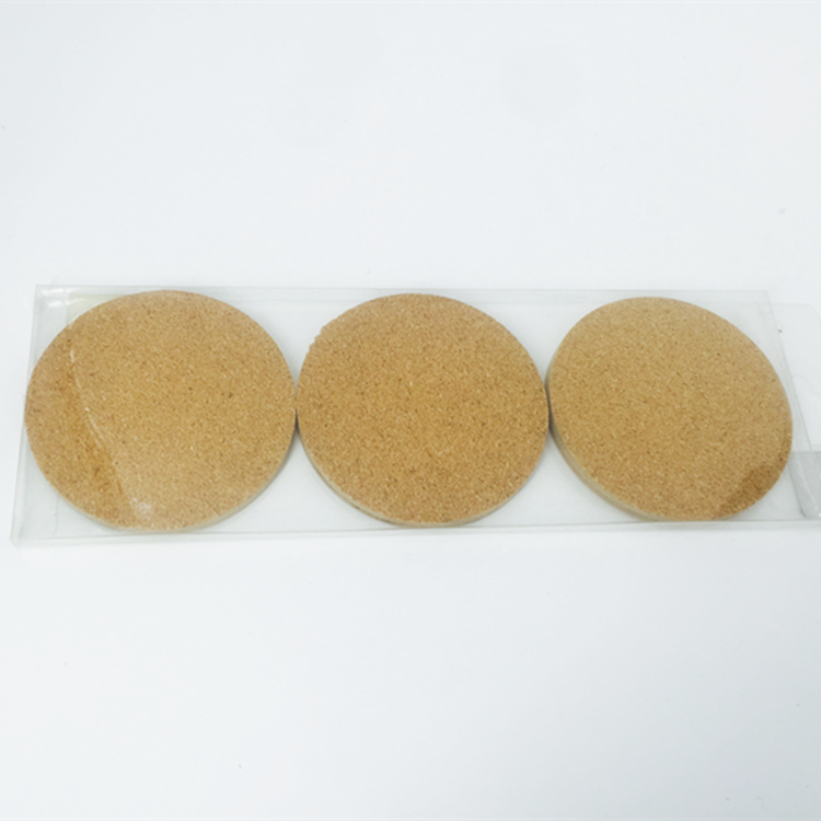 Promotional Gifts Good Quality Customize Cheap Blank Cork Coaster