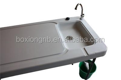 Kunststoff Faltung Tragbare Fisch Tisch Filet Tisch Mit Spule Und